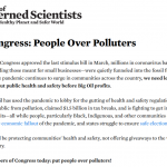 ALERT: Tell Congress today: put people over polluters!