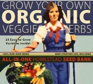 Plant & Eat - 100% organic GMO-Free Seedbank