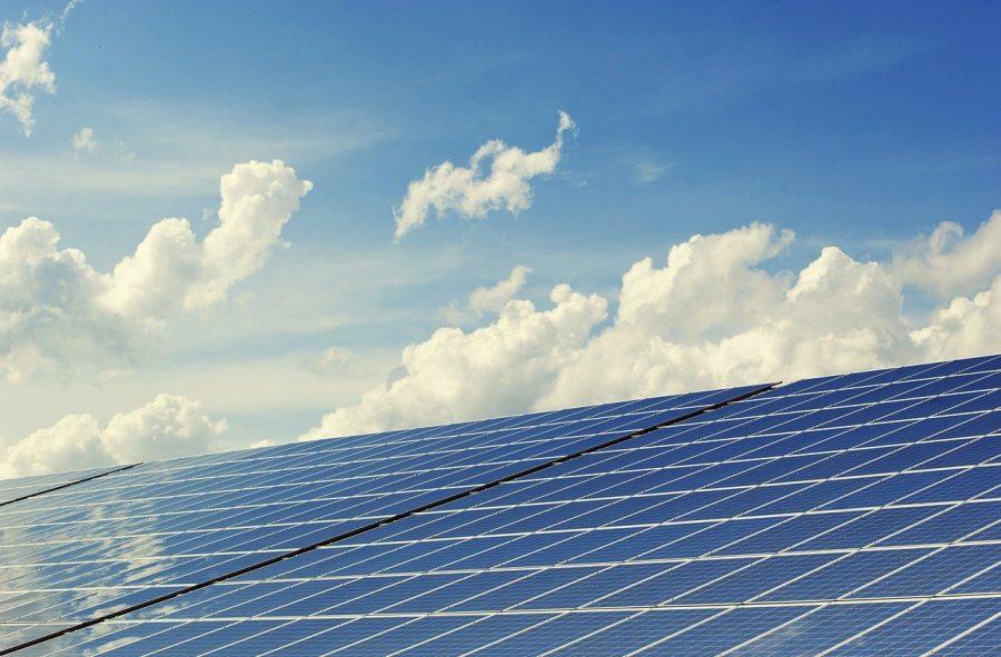 solar power vs clouds