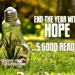 End the Year with Hope: 5 Good Reads