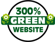 Our website is 300% green - yours can be, too!