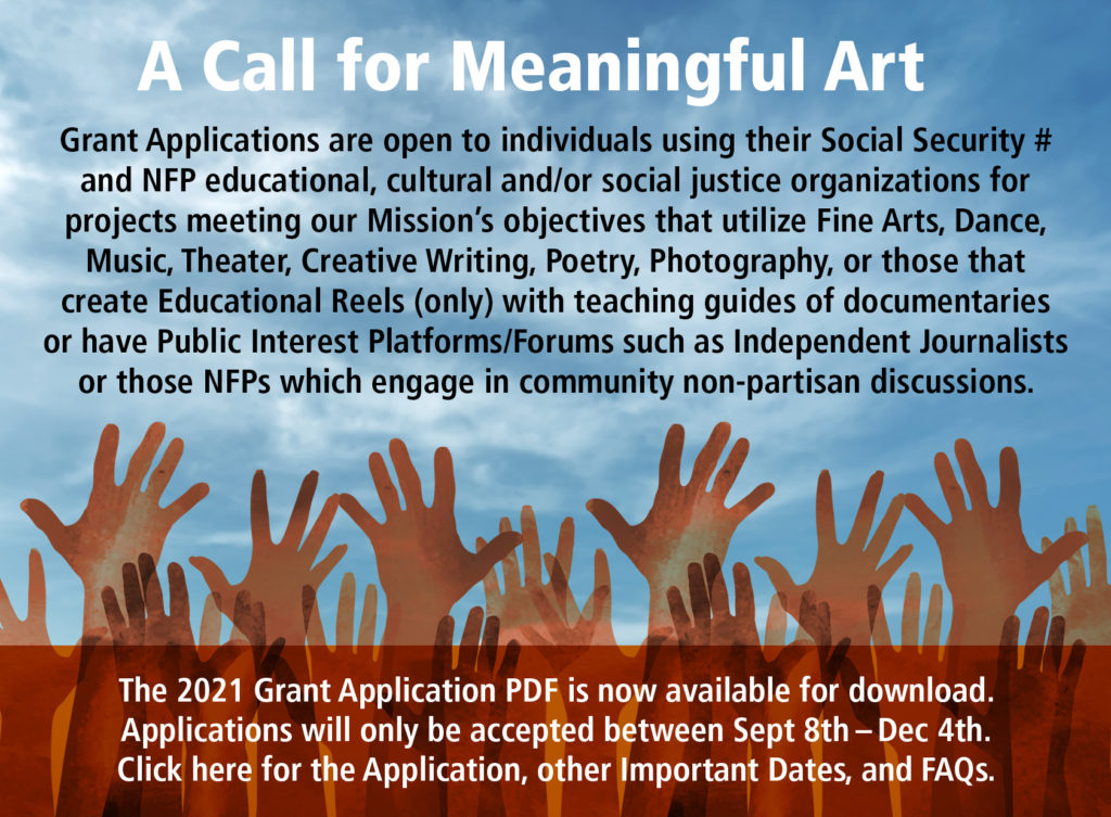 Social Justice Arts Grant