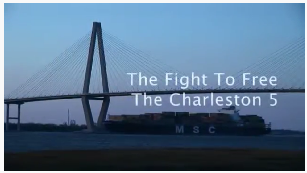 screenshot from Charleston 5 documentary
