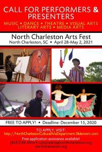 Flyer - North Charleston Arts Fest
