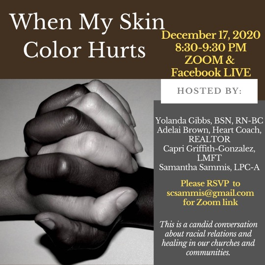 Race Talk - When My Skin Color Hurts