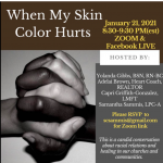 Zoom Talk When My Skin Color Hurts