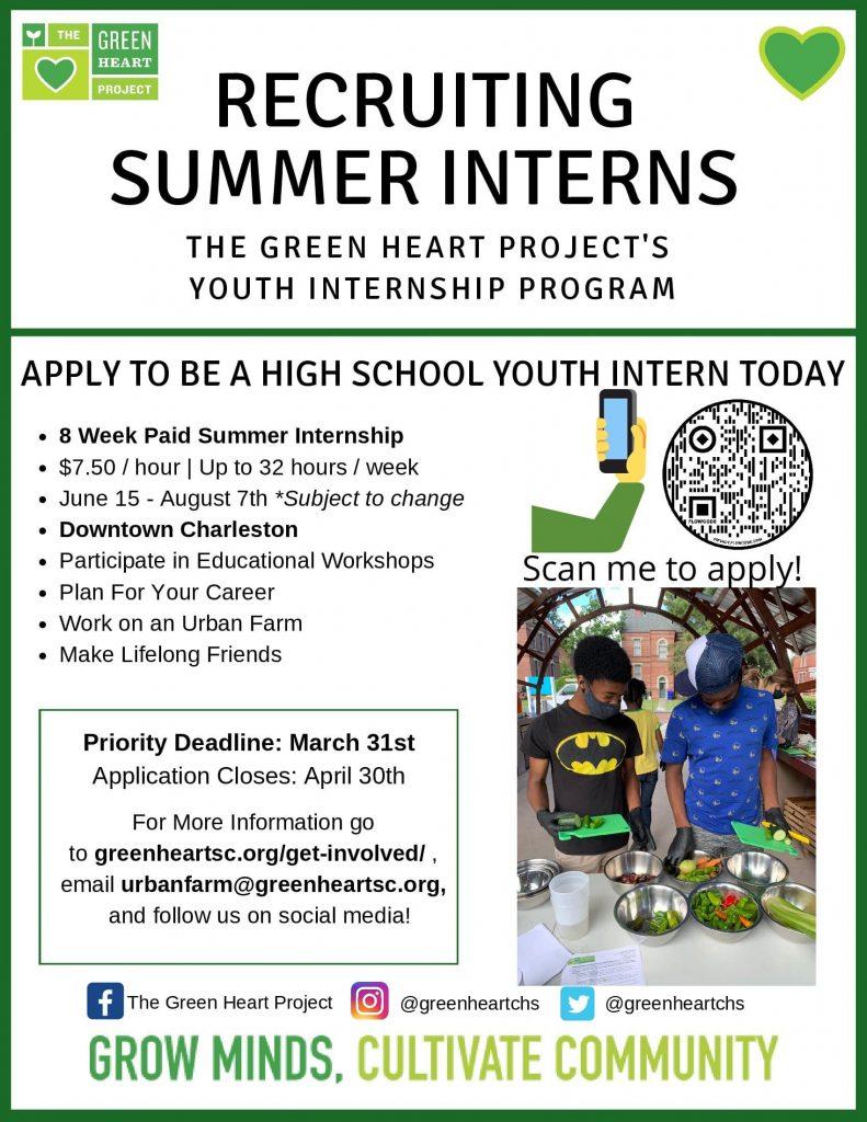Summer Recruitment Flyer 2021