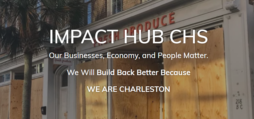 Screenshot Impact HUB Charleston
