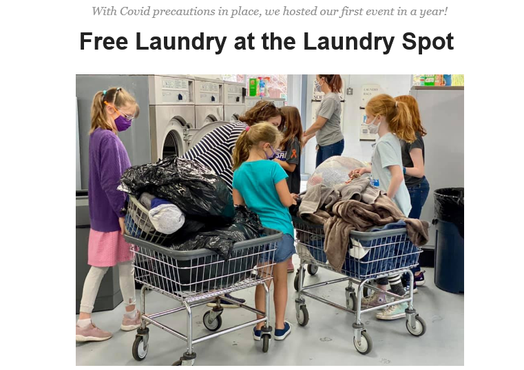 Free Laundry event in West Ashley