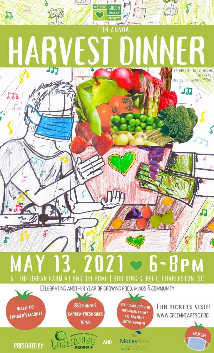 green-heart-dinner-flyer