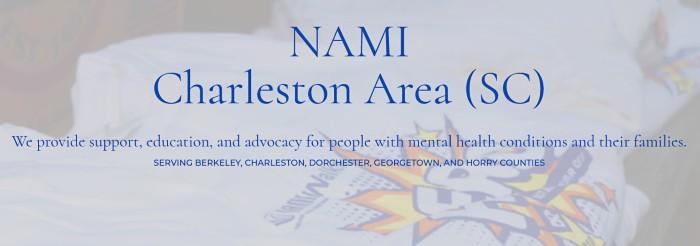 Screenshot NAMI Charleston Area