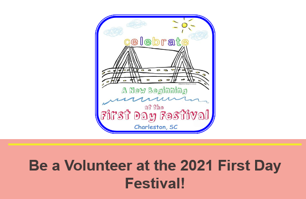 Screenshot Volunteer for the Annual First Day Festival