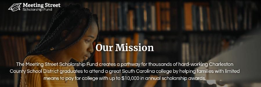 Screenshot Meeting Street Scholarship Fund