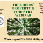 REGISTER NOW: Free Heirs' Property and Forestry Webinar