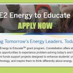 APPLY NOW: E2 ENERGY GRANTS