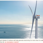 North Sea Project to Use World's Largest Wind Turbines