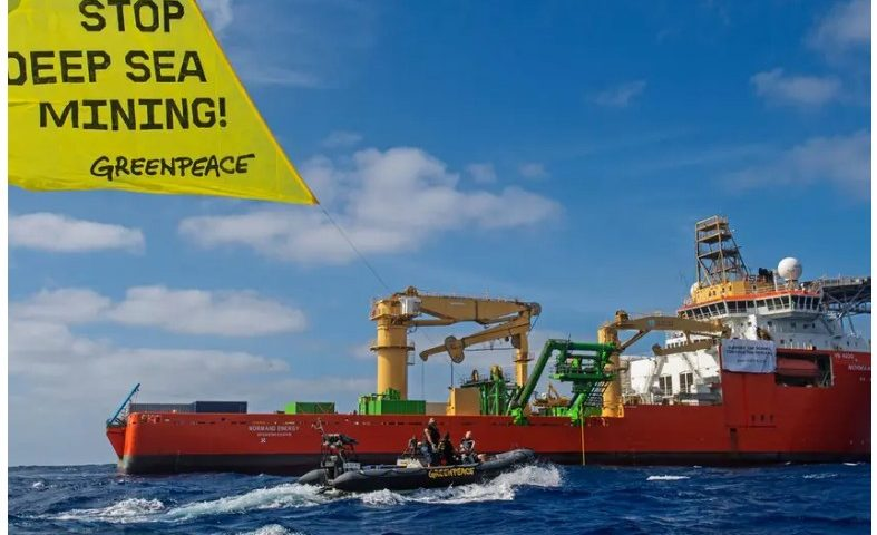 Screenshot Greenpeace legal action against UK government over secrecy on deep sea mining