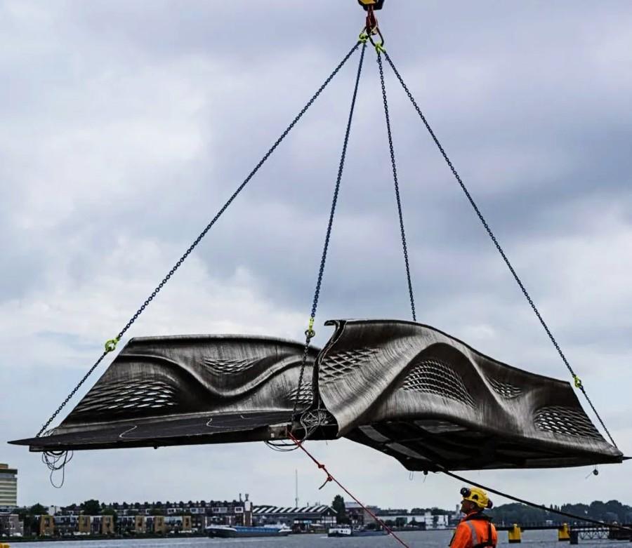 3D-Steel-Bridge-Amsterdam