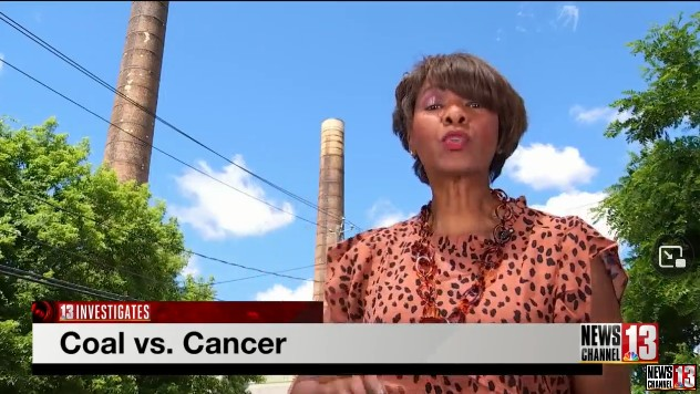 Screenshot- Albany women say coal-plant is part of cancer-causing racism